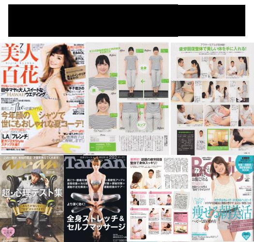 当院の技術は有名雑誌に掲載されております。
